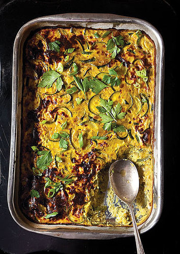 Fast and Easy Recipe For Persian Zucchini Frittata or Kuku Kadoo