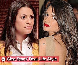 Sugar Shout Out: Glee Girls Compare Real-Life Styles to Their Characters'