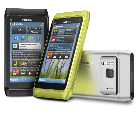 Photos of the Nokia N8