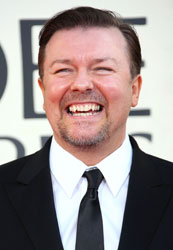 Ricky Gervais to Host 2011 Golden Globe Awards 2010-04-28 12:05:00