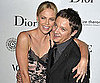 Slide Picture of Charlize Theron and Jeremy Renner on Red Carpet