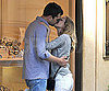 Slide Picture of Diane Kruger and Joshua Jackson Kissing in Paris