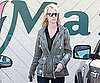 Slide Picture of January Jones Shopping in Los Feliz