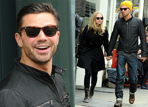 Photos of Cute Couple Amanda Seyfried and Dominic Cooper Walking in SoHO New York Together, Most Beautiful People List