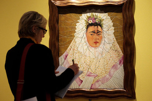 Pictures From Frida Kahlo Exhibition in Berlin, Germany