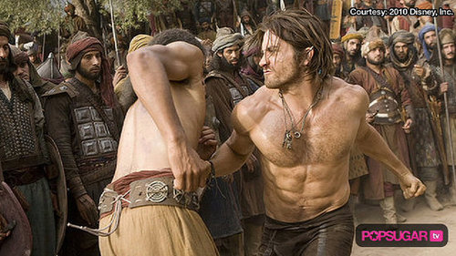 Shirtless Jake Gyllenhaal in Prince of Persia