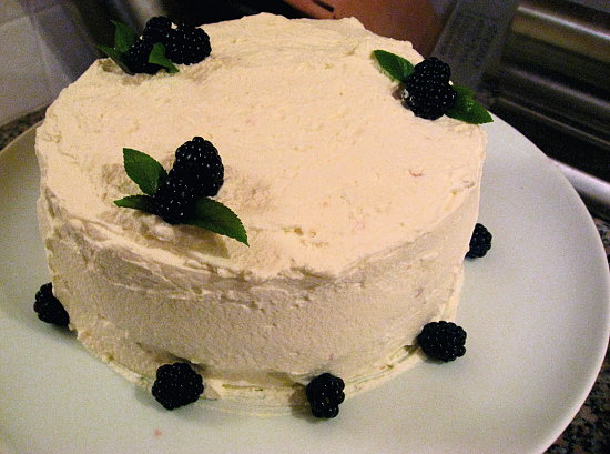 Lime Chiffon Cake 