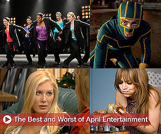 Best and Worst of Movies, TV, and Music in April