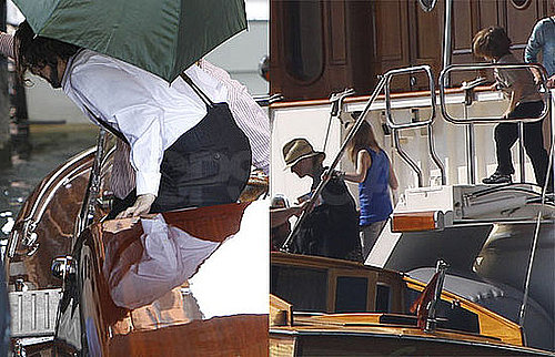 Pictures of Johnny Depp With Vanessa Paradis, Jack Depp, and Lily-Rose Depp in Venice 2010-04-29 16:00:00