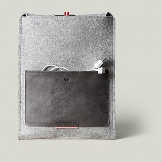 Wool and Leather iPad Case