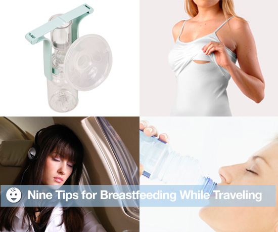 Breastfeeding Tips While Traveling