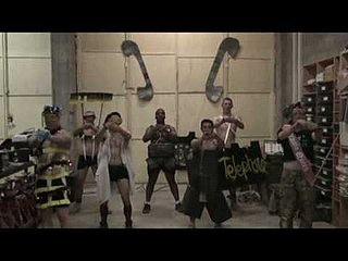 "Video of Soldiers Performing Lady Gaga's ""Telephone"""