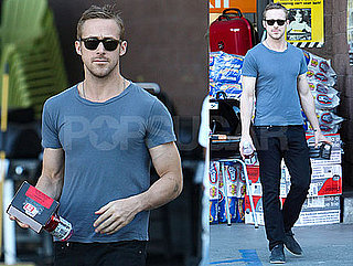 Pictures of Hot Ryan Gosling Leaving a Hardware Store in LA
