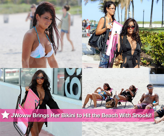 JWoww and Snooki Head Back to the Beach Jersey Shore Style!