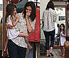 Pictures of Barefoot Suri Cruise and Katie Holmes Shopping in LA