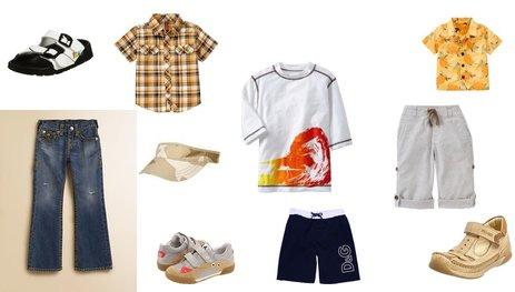 Boy's Summer Clothing