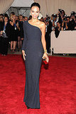 Zoe Saldana in Calvin Klein Collection