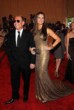 Michael Kors with Brooke Shields in his design