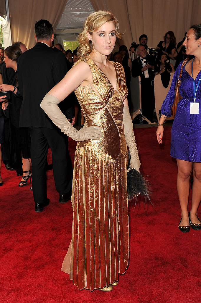 Greta Gerwig in Marc Jacobs