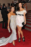 Eva Longoria Parker in Marchesa with Georgina Chapman