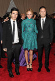 Lazaro Hernandez and Jack McCollough with Chloe Sevigny in Proenza Schouler