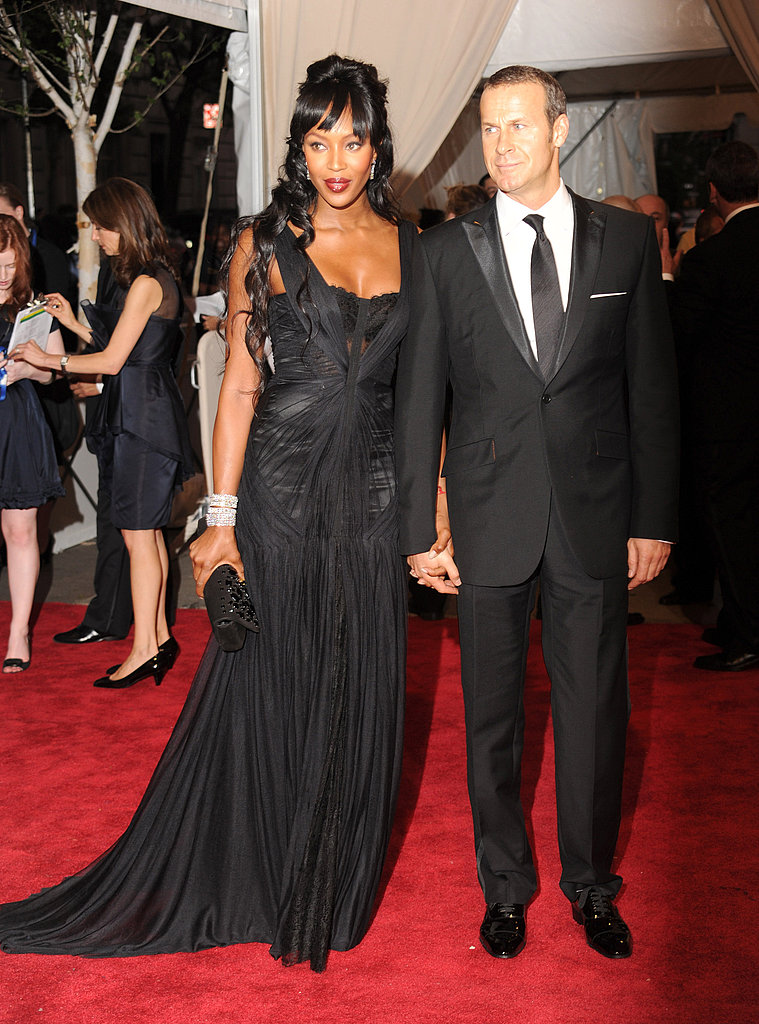 Naomi Campbell in Dolce & Gabbana and Vladislav Doronin