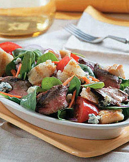 Italian Steak and Bread Salad Recipe