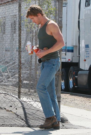 True blood filming