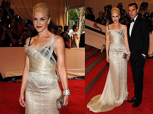 Pictures of Gwen Stefani and Gavin Rossdale at the 2010 Met Costume Institute Gala