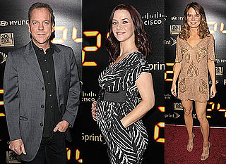 Photos of Kiefer Sutherland, Pregnant Annie Wersching, Mary Lynn Rajskub at 24 Season 8 Finale Party 2010-05-04 06:00:00