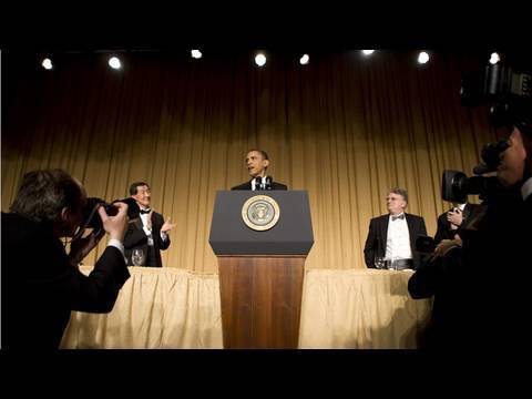 Video of President Obama at White House Correspondents Dinner