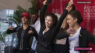 Jessica Alba Working Out With Jessica Biel and Halle Berry For Revlon
