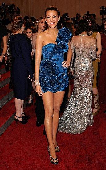 Beautiful ladies hit the Met Ball