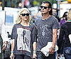Slide Picture of Gwen Stefani and Gavin Rossdale Walking in New York