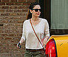 Slide Picture of Rachel Bilson Catching Cab in NYC