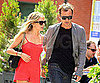 Slide Picture of Sienna Miller and Jude Law Eating at Pastis in New York