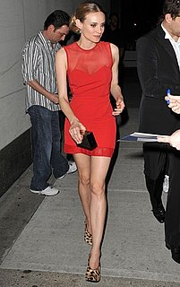 Diane Kruger Wears Alexander Wang in NYC
