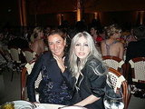 Miuccia Prada and Lady Gaga in Prada