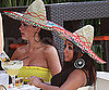 Slide Photo of JWoww and Snookie Wearing Sombreros on Cinco de Mayo