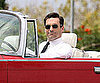 Slide Picture of Jon Hamm on Mad Men Set in LA