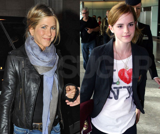 Jennifer Aniston vs. Emma Watson