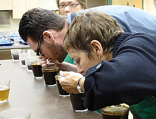 Behind the Scenes at a Starbucks Coffee Cupping