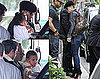 Pictures of Jennifer Lopez Arriving in Nice, France, With Her Family