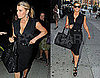 Pictures of Jessica Simpson In All Black in NYC