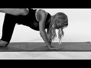 Video of Gwyneth Paltrow's Iron Man 2 Workout For Legs From Tracy Anderson