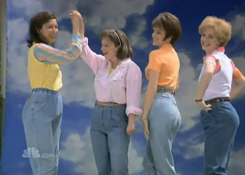 """Mom Jeans"" Saturday Night Live Skit Video"