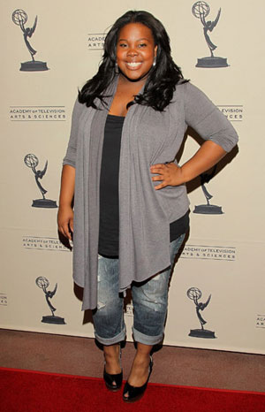 Glee's Amber Riley Talks About Weight Issues and Embracing Her Body