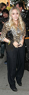 Mary-Kate Olsen Wears Leopard to Holly Rollers Premiere