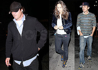 Pictures of Joaquin Phoenix Leaving LA's Club Bardot