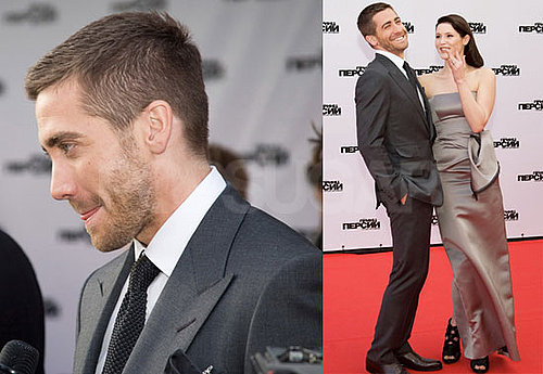 Pictures of Jake Gyllenhaal With Gemma Arterton at a Prince of Persia Premiere in Moscow
